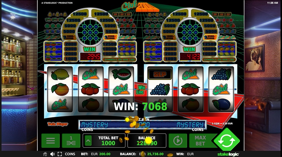 Club 2000 stake logic slot game websites igre fun