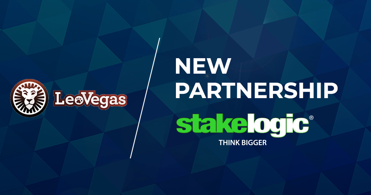 Stakelogic and LeoVegas Partnership